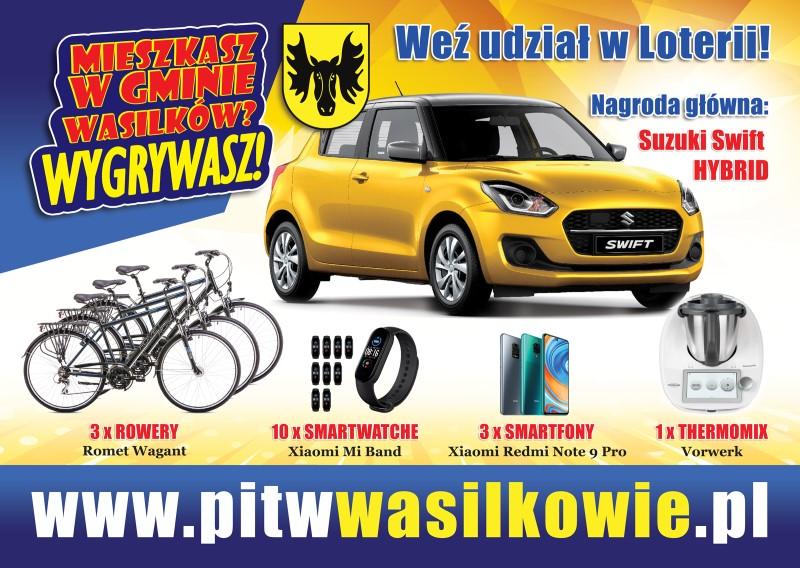 Rozlicz PIT W Wasilkowie - Kliknij w obrazek jeśli chcesz wziąć udział w loterii